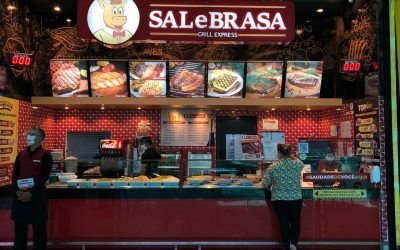 Sal e Brasa Grill Express já está com 100% das suas lojas em operação